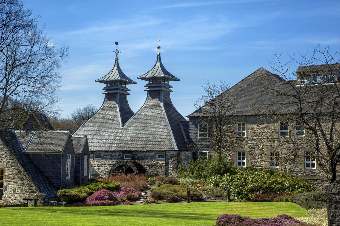 Strathisla Distillery, Keith, Moray.
