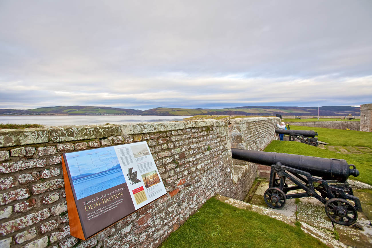 Fort George near Ardersier, to the north-east of Inverness in the Highland council area of Scotland